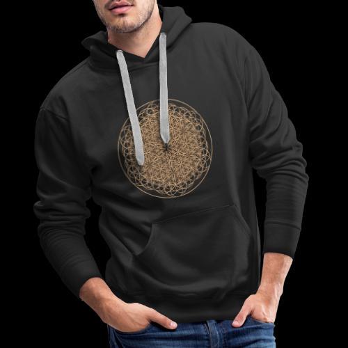 lebensblume-fc9 - Männer Premium Hoodie