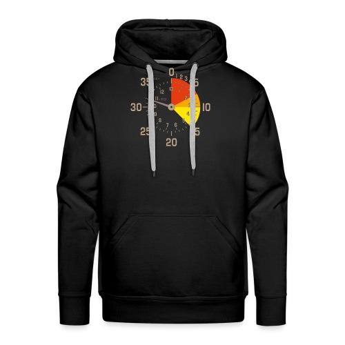 parachutiste altimètre skydive - Sweat-shirt à capuche Premium pour hommes