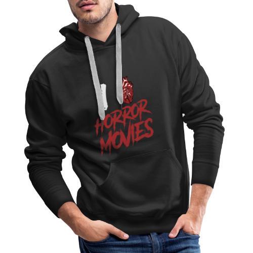 I Love Horror Movies - Männer Premium Hoodie