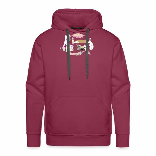 Pintular - Sudadera con capucha premium para hombre