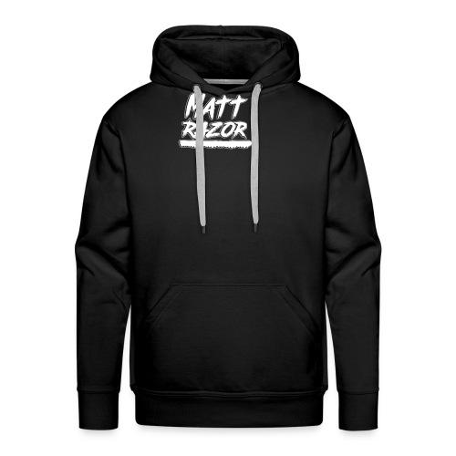 mattrazor - Sweat-shirt à capuche Premium pour hommes