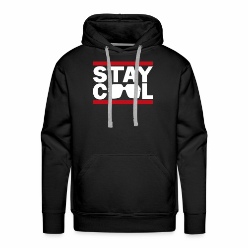 Stay Cool ver02 - Herre Premium hættetrøje