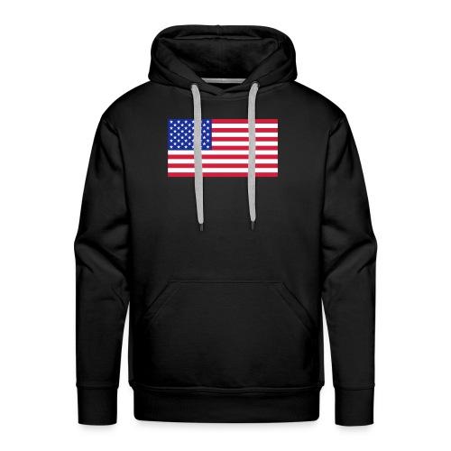 USA / United States - Mannen Premium hoodie