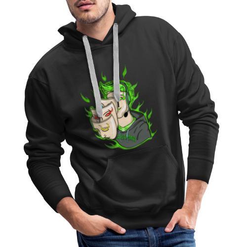 Seelenspiel Grün - Männer Premium Hoodie