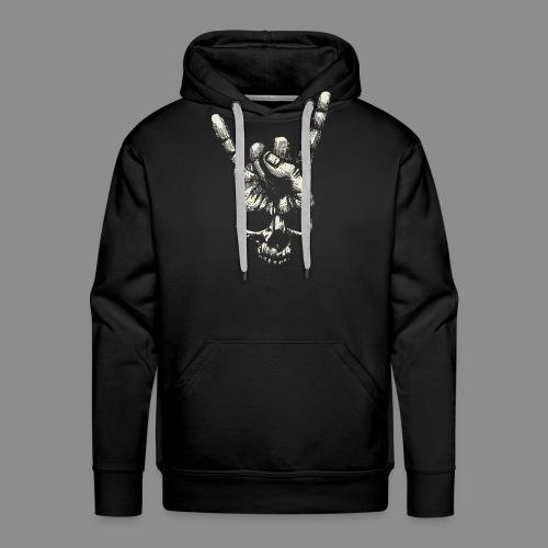 Mano Skull - Sudadera con capucha premium para hombre