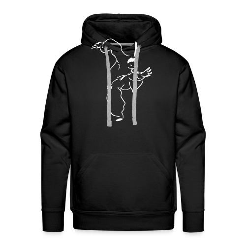 kungfu - Men's Premium Hoodie