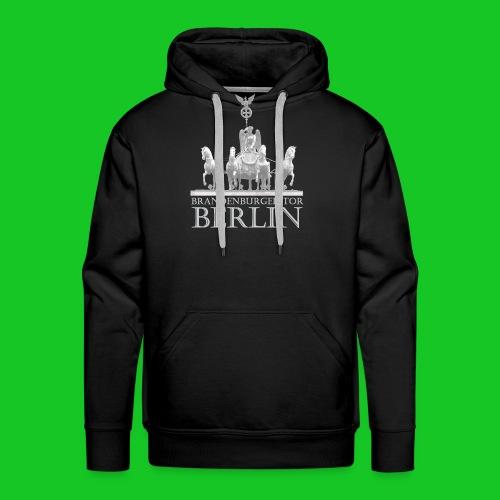 Brandenburger Tor - Mannen Premium hoodie
