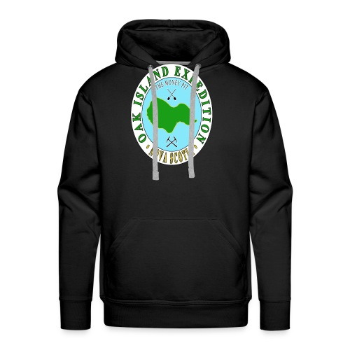 Oak Island Money Pit Expedition - Men's Premium Hoodie
