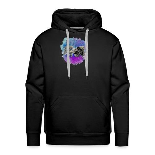 Tigre y lobo - Sudadera con capucha premium para hombre