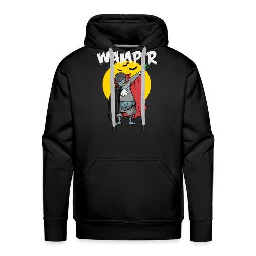 Wampir - lustiges Vampir Bierbauch Fun T-Shirt - Männer Premium Hoodie