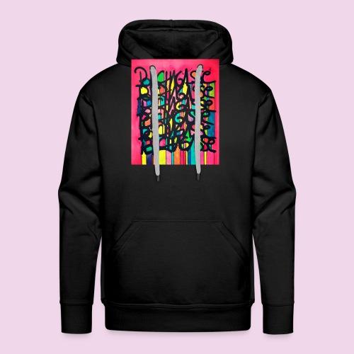 PhotoEditor-1458110854945 - Sweat-shirt à capuche Premium pour hommes