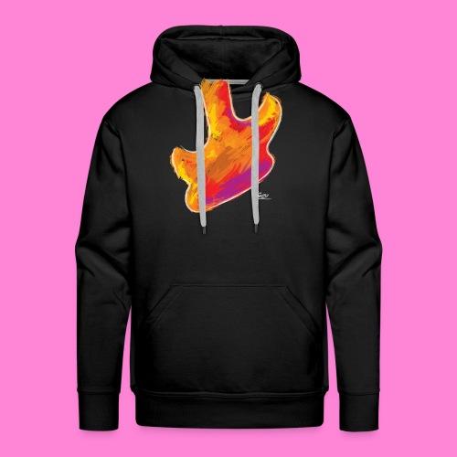 Art guitar - Mannen Premium hoodie