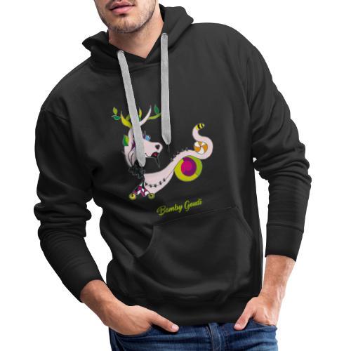 Bamby Goudi - Sweat-shirt à capuche Premium pour hommes