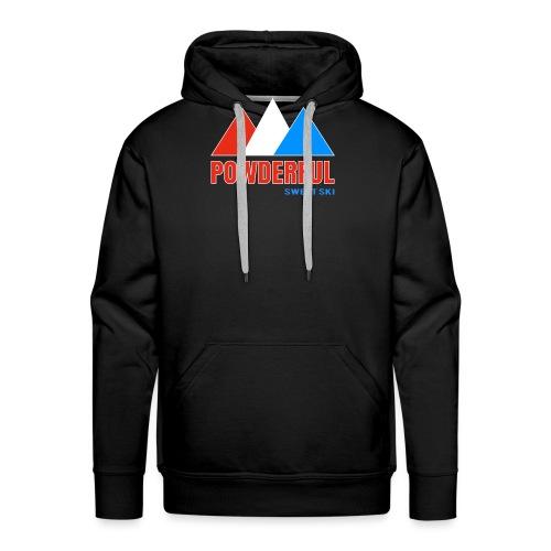 Powderful Sweet Ski - Männer Premium Hoodie