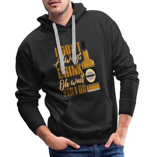 Vieltrinker - drunkard - whiskey - Men's Premium Hoodie