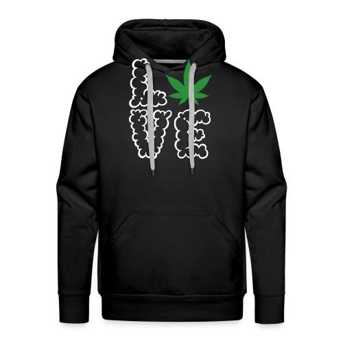 Love Weed - Männer Premium Hoodie