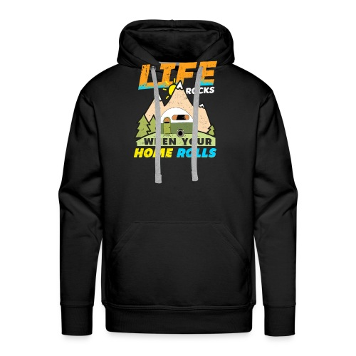 Geschenkidee für Camper, Männer und Vanlife - Männer Premium Hoodie