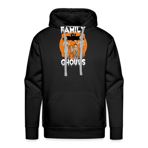 Zombie Family Ghouls Halloween Night Party - Men's Premium Hoodie