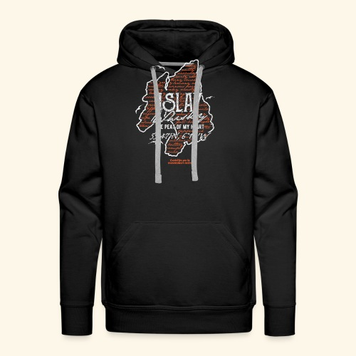 asting Notes Islay Whisky T Shirt Design - Männer Premium Hoodie