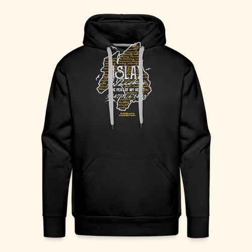 Tasting Notes Islay Whisky T Shirt Design - Männer Premium Hoodie