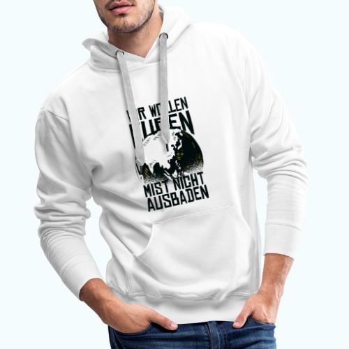 Klare Kante Zeigen - Fridays For Future - Men's Premium Hoodie