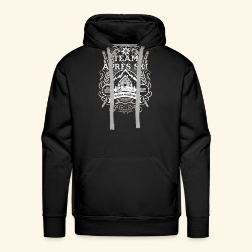 Saalbach-Hinterglemm Apres Ski T Shirt   Party - Männer Premium Hoodie