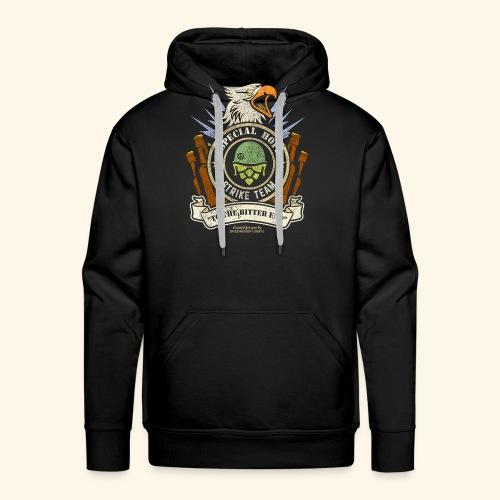 Craft Beer Fan T Shirt Special Hops Strike Team - Männer Premium Hoodie