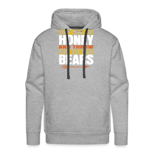 dip me in honey and throw me to the bears - Mannen Premium hoodie