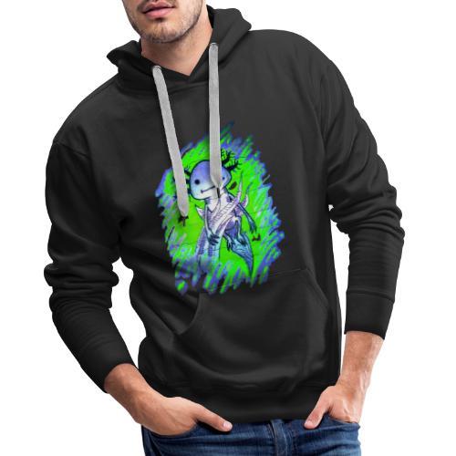Axolotl - Miesten premium-huppari