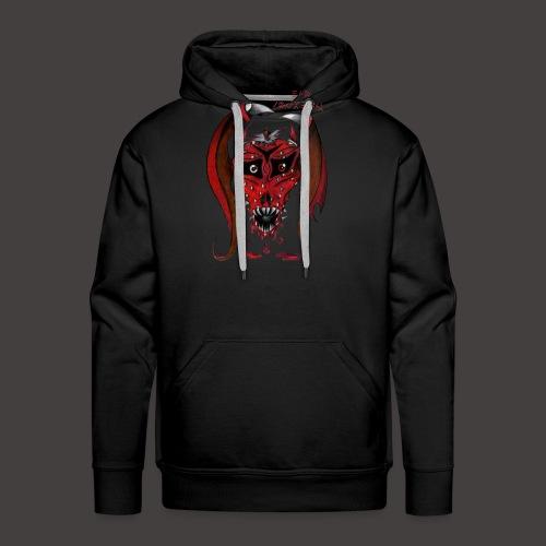 BAT STRAWBERRY - Sweat-shirt à capuche Premium pour hommes
