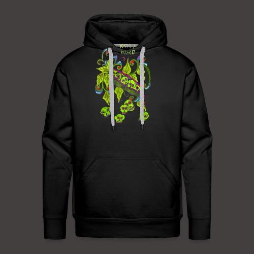 GREEN PSYCHO - Sweat-shirt à capuche Premium pour hommes
