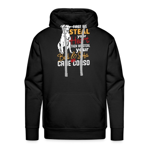Cane Corso Steal Bed Sofa and your Heart - Männer Premium Hoodie
