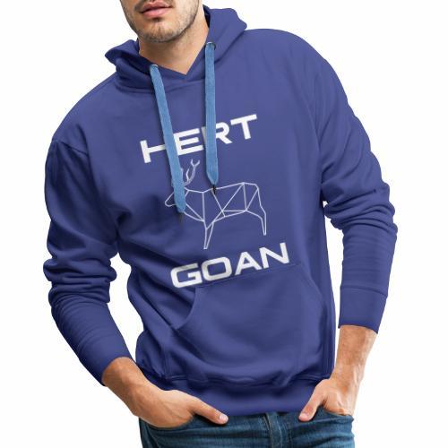 Hert Goan - Mannen Premium hoodie