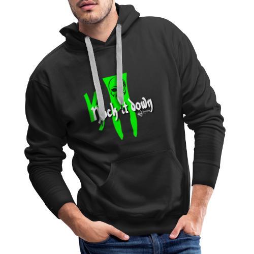 Nock it down - Männer Premium Hoodie
