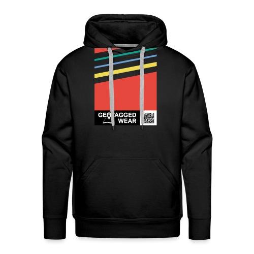 Unisex Stripes Pantone Colored - Männer Premium Hoodie
