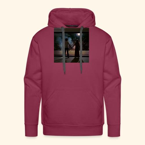 Mum look at me, I'm really okay. - Sweat-shirt à capuche Premium pour hommes