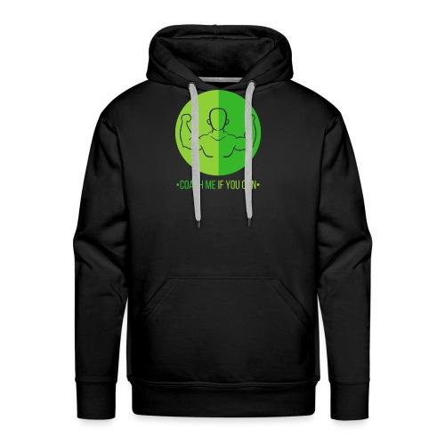 Muscle Vert - Sweat-shirt à capuche Premium pour hommes