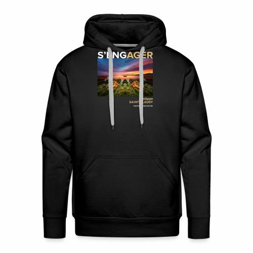 1 Achat = 1 Don à l'association Coeur de forêt - Sweat-shirt à capuche Premium pour hommes