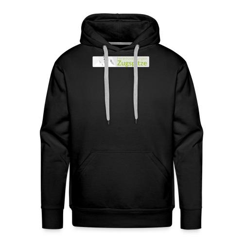 logo fewo zugspitze farbig transparent m - Männer Premium Hoodie