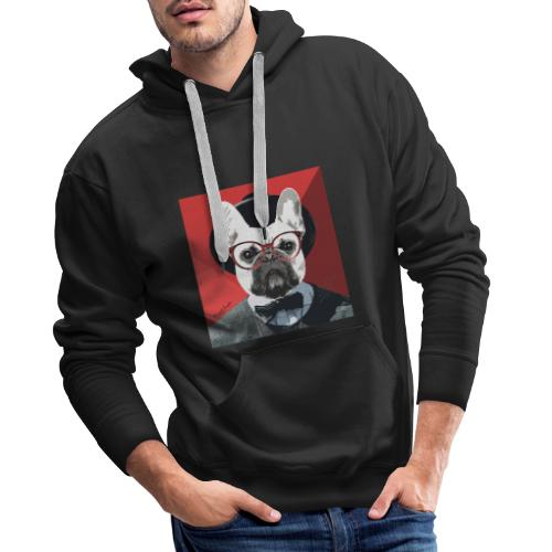 French Bulldog Artwork 2 - Männer Premium Hoodie