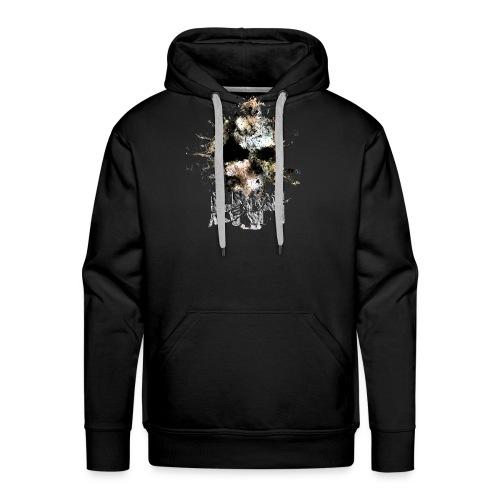 HNH METAL SKULL - Sweat-shirt à capuche Premium pour hommes
