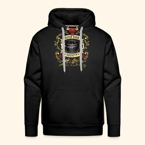 Grill-T-Shirt Dutch Oven Society - Geschenkidee! - Männer Premium Hoodie