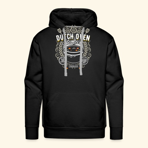 Dutch Oven T Shirt Dutch Oven Master - Männer Premium Hoodie