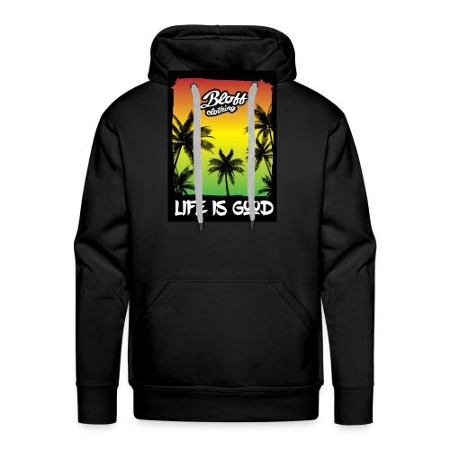 life is good - Sudadera con capucha premium para hombre