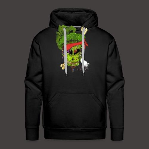PIRATE BROCCOLI - Sweat-shirt à capuche Premium pour hommes