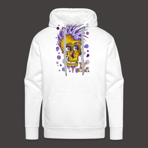 Autoportrait - Sweat-shirt à capuche Premium pour hommes