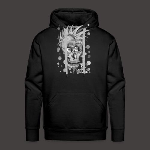 Autoportrait Noir et Blanc - Sweat-shirt à capuche Premium pour hommes