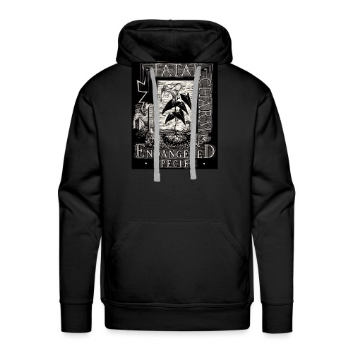 fatal charm - endangered species - Men's Premium Hoodie