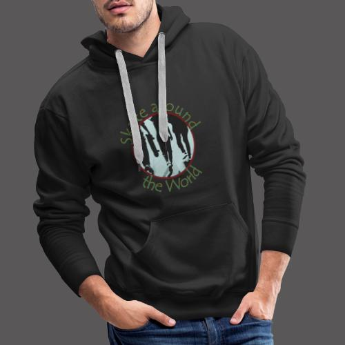 Skate around the World - Männer Premium Hoodie
