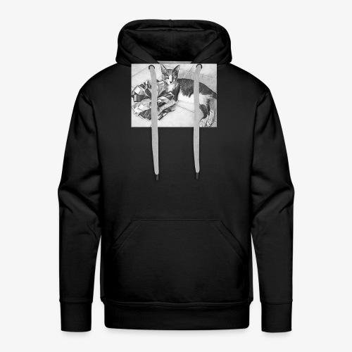 tommy - Sudadera con capucha premium para hombre
